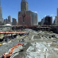 Carylon crews at Ground Zero